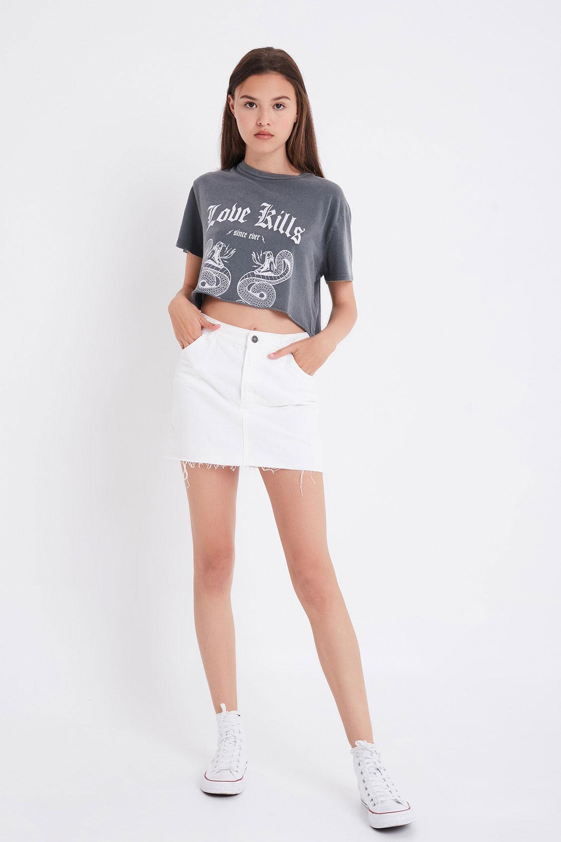 Love Kills printed t-shirt