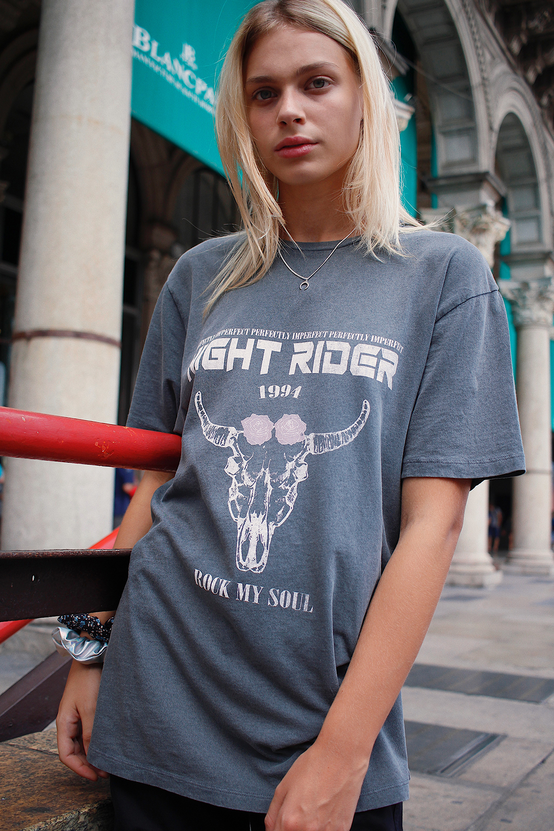 Camiseta night rider
