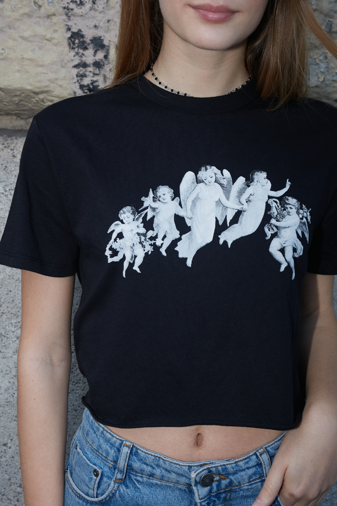 Angels printed t-shirt