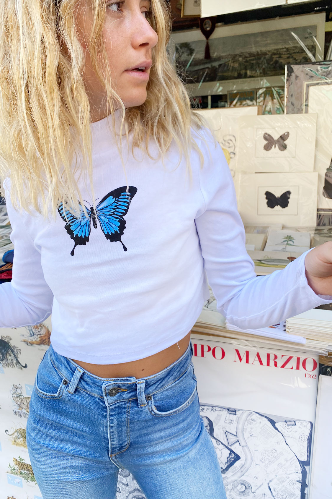 T-Shirt Schmetterling