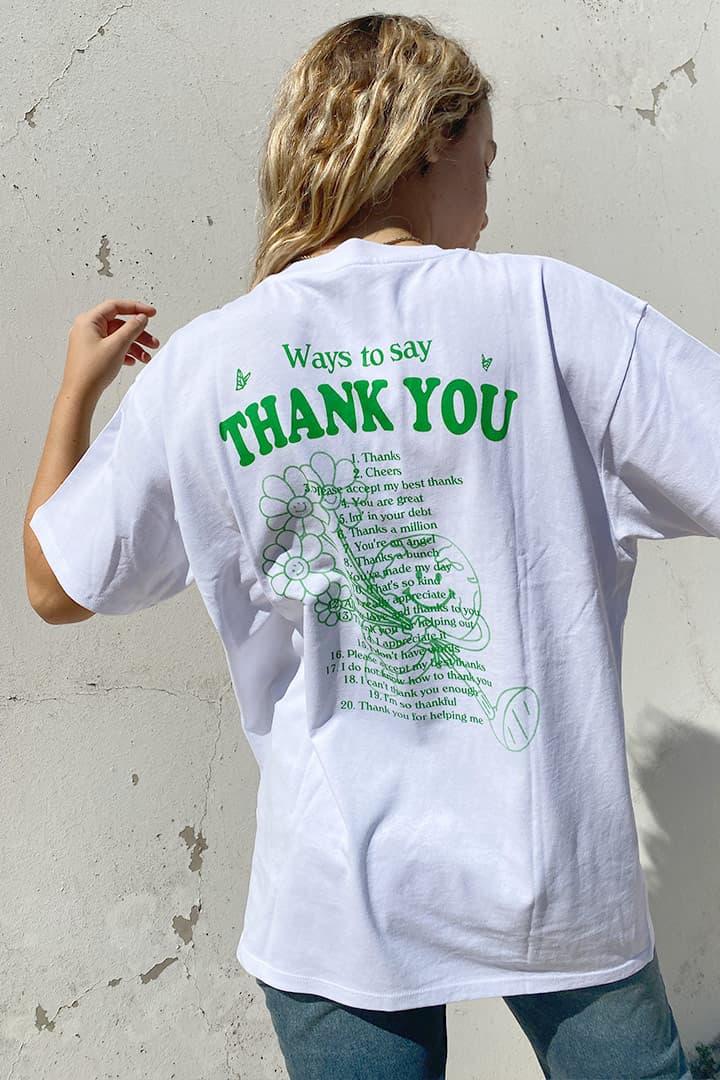 T-shirt Thank you