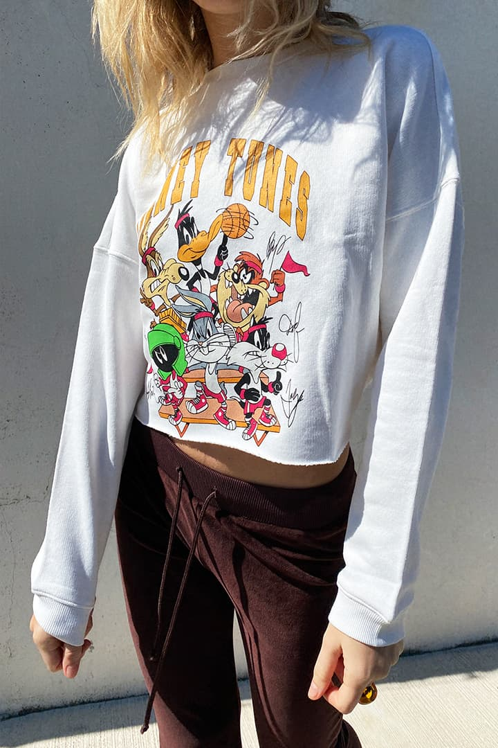 Looney Tunes printed sweatshirt