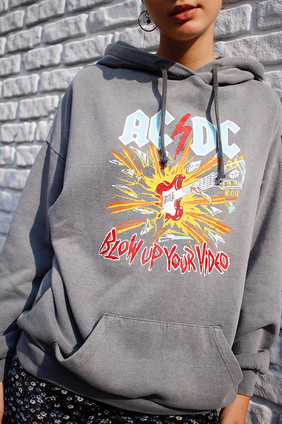 ACDC printed hoodie