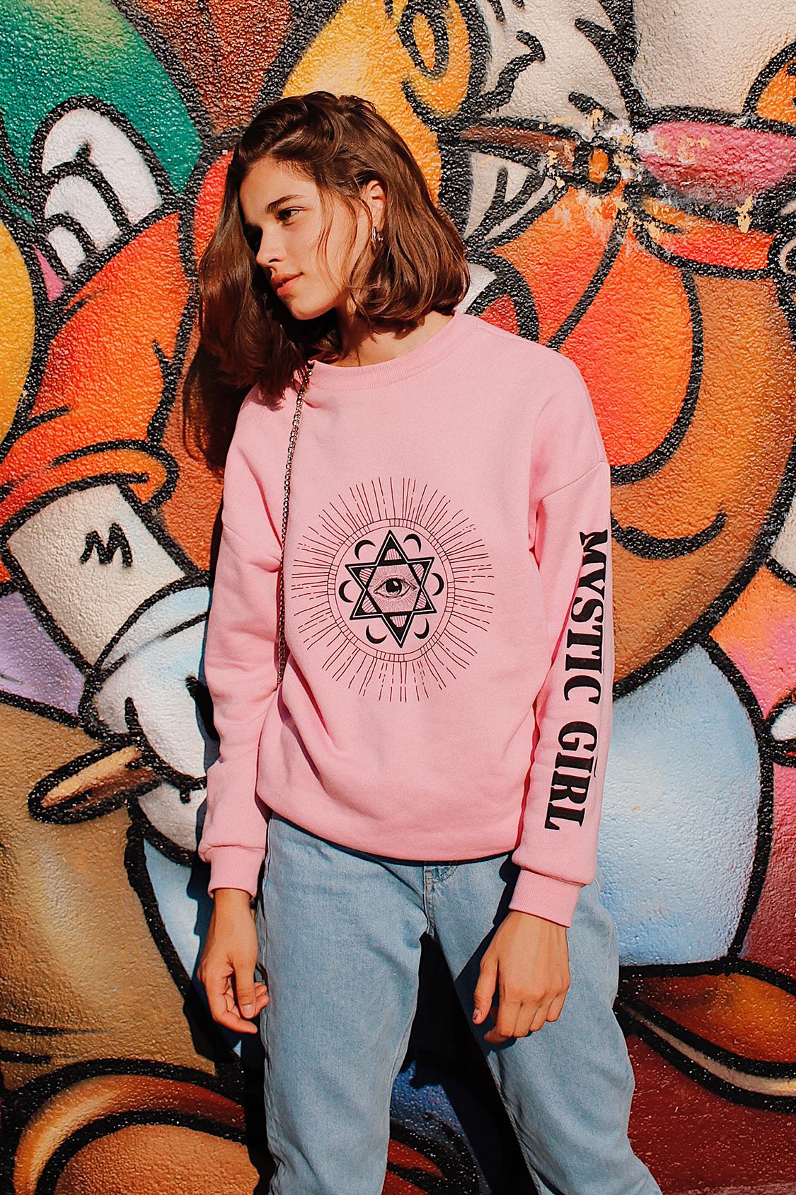Mystic Girl printed sweatshirt