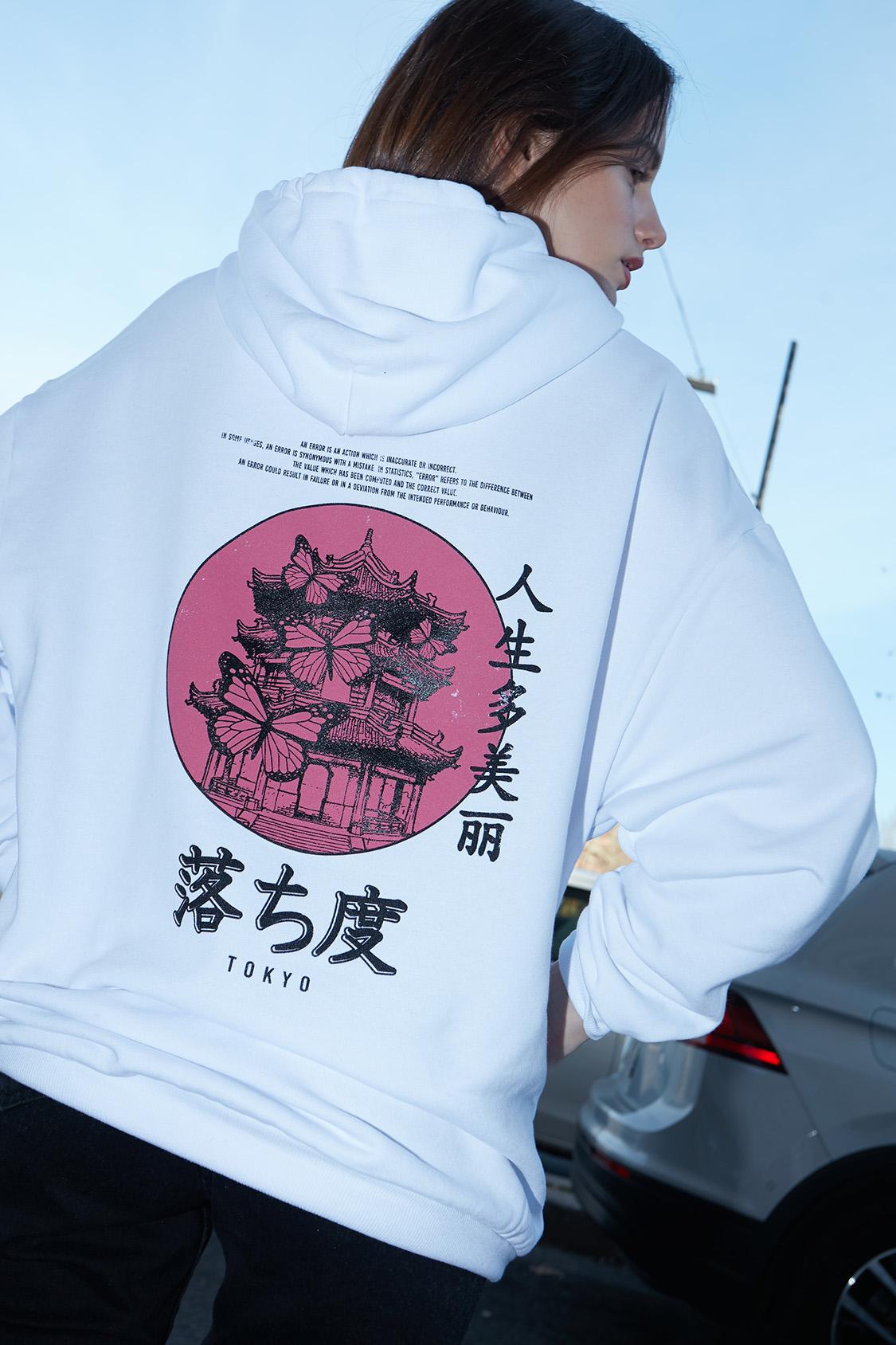 Tokyo printed hoodie