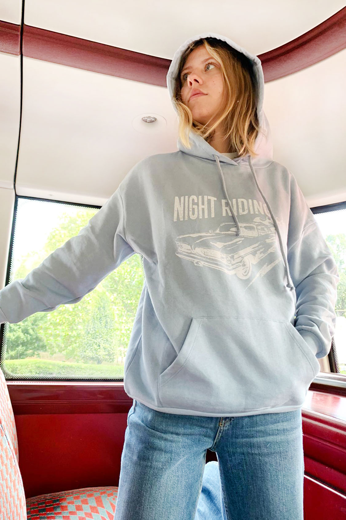 Sudadera capucha Night Riding