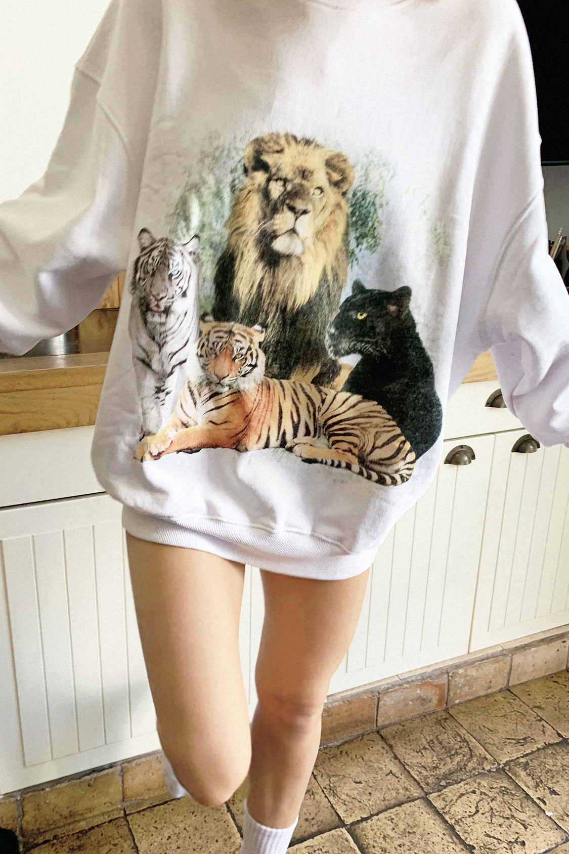 Sudadera wild animals