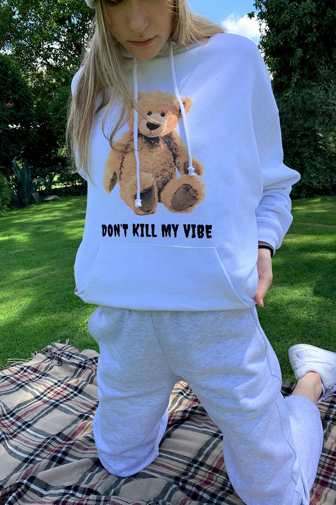 Don't kill my vibe sweatshirt