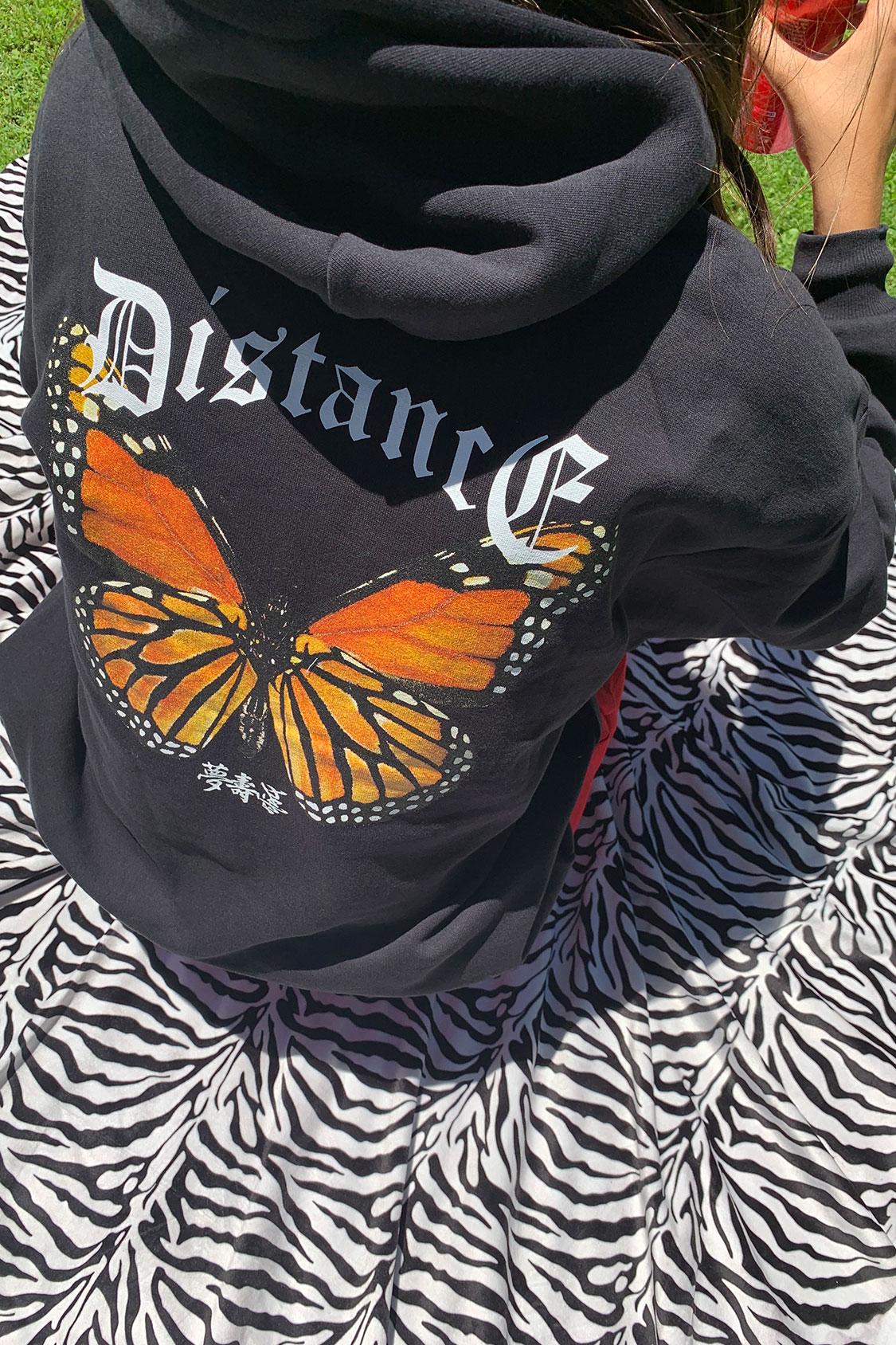 Distance hoodie