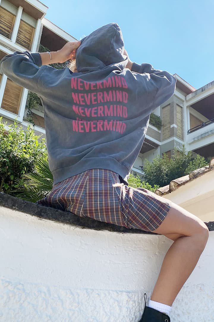 Kapuzenpullover Nevermind