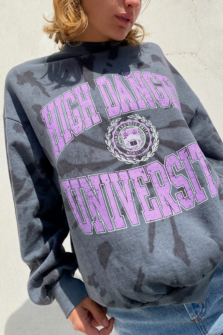 SWEATSHIRT FB05F HIGH DANG UNI