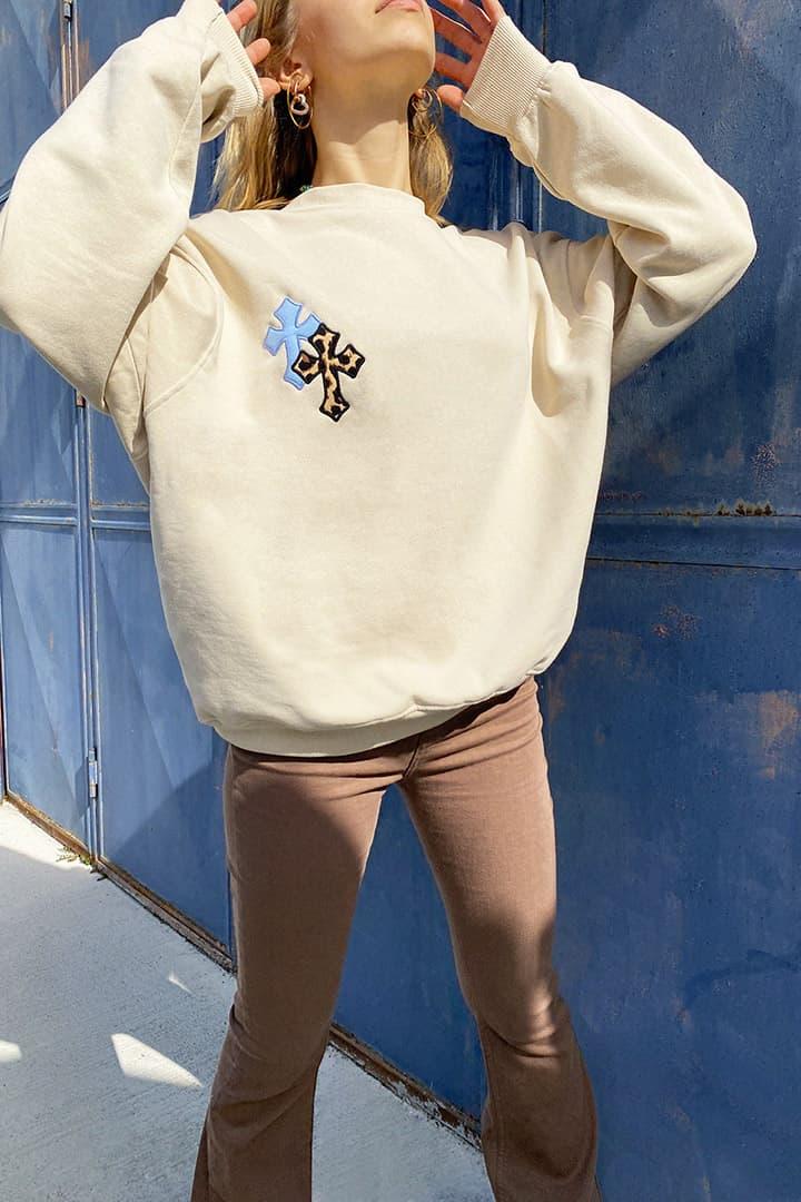 Crosses sweatshirt