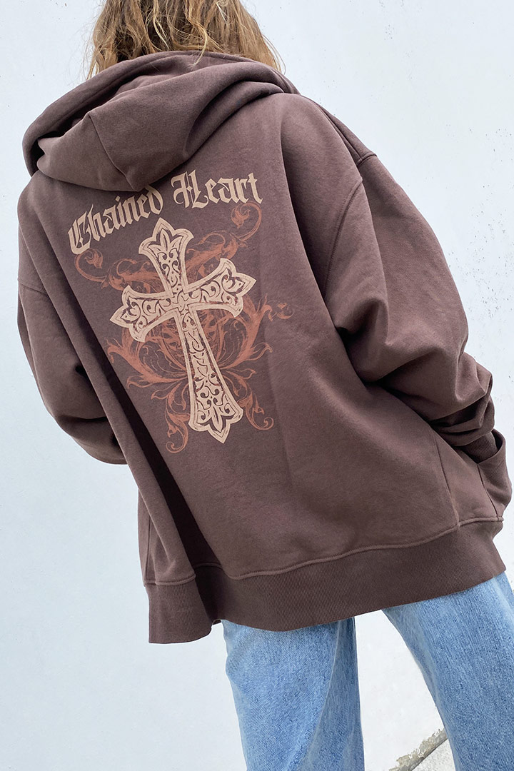 Sudadera cruz
