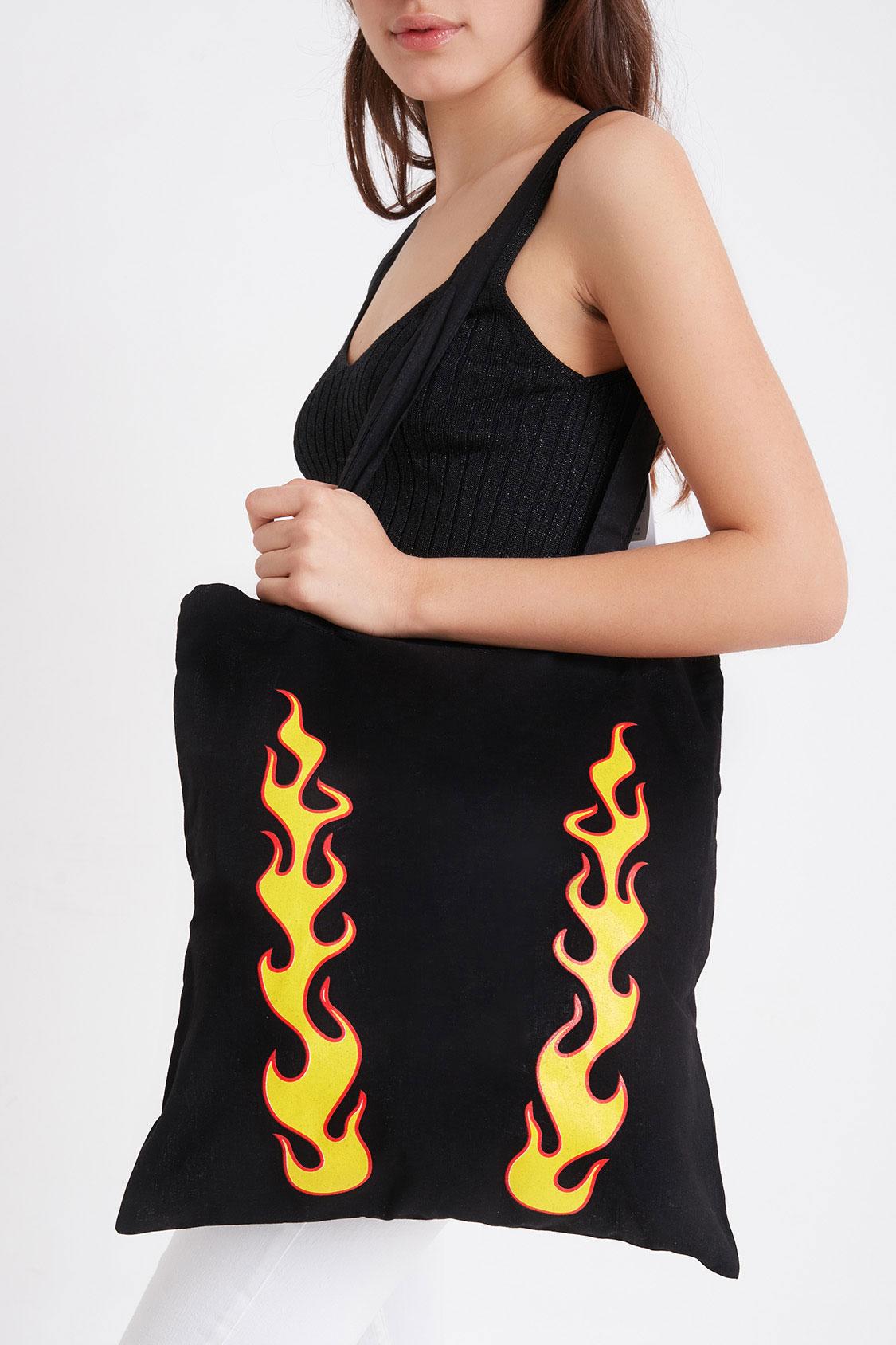 Shopping bag fiamme