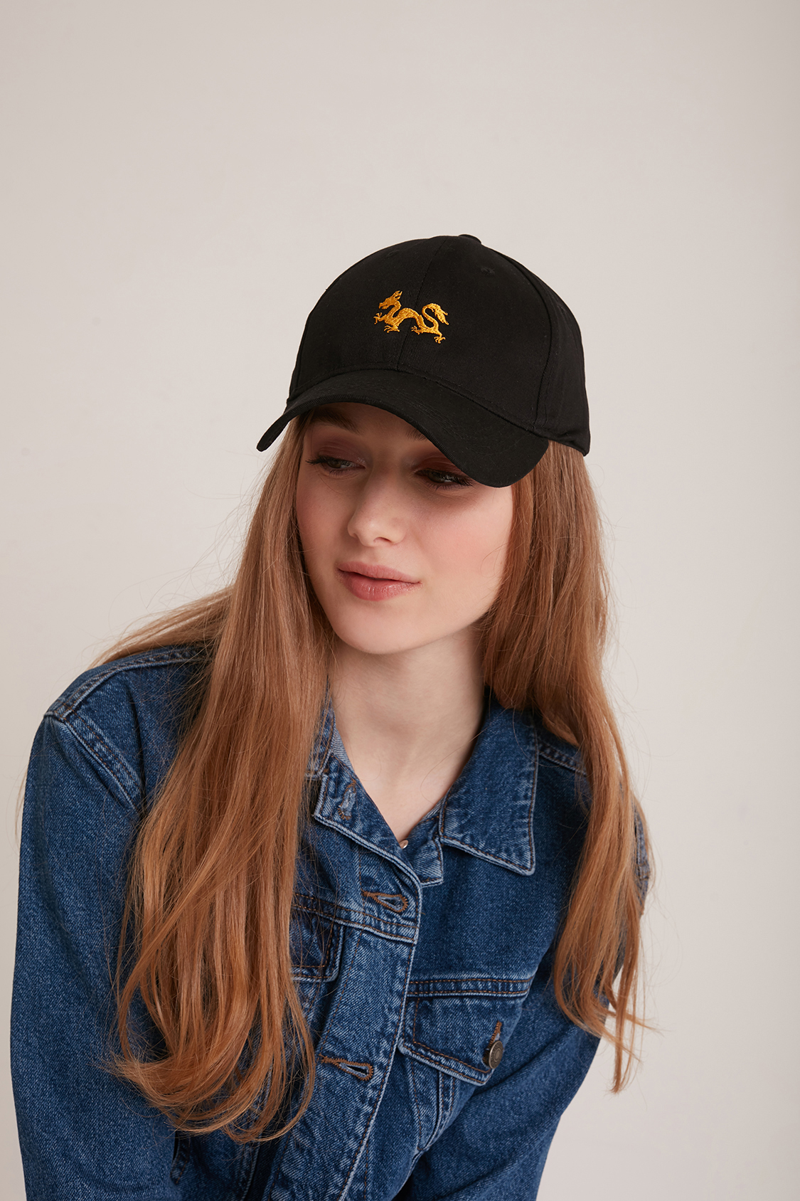 Embroidered dragon hat