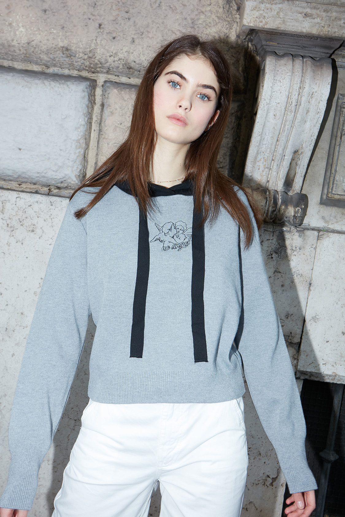 Angels hooded sweater