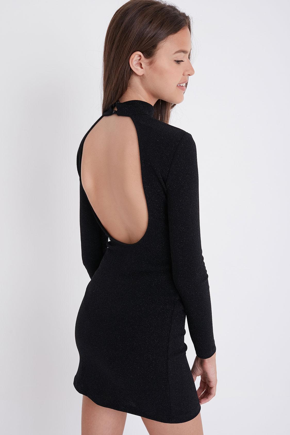 Kleid Ausschnitt hinten