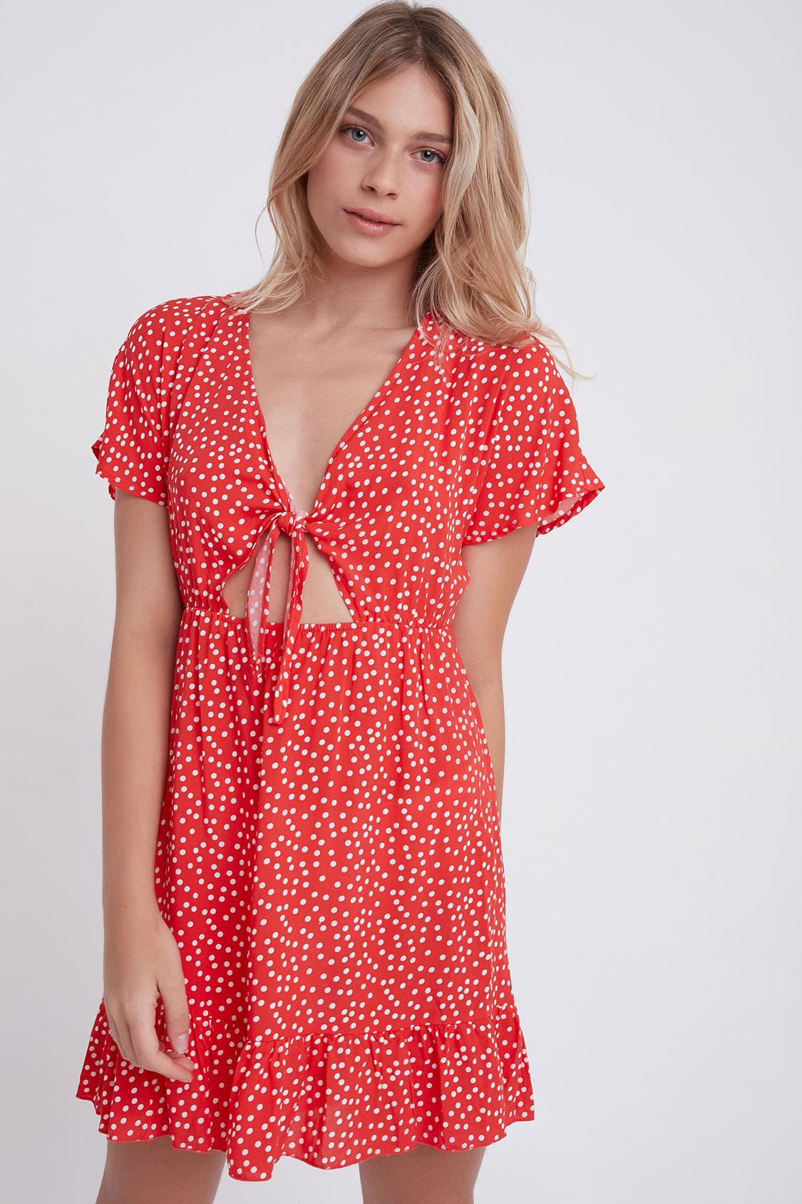 Kleid Schleife