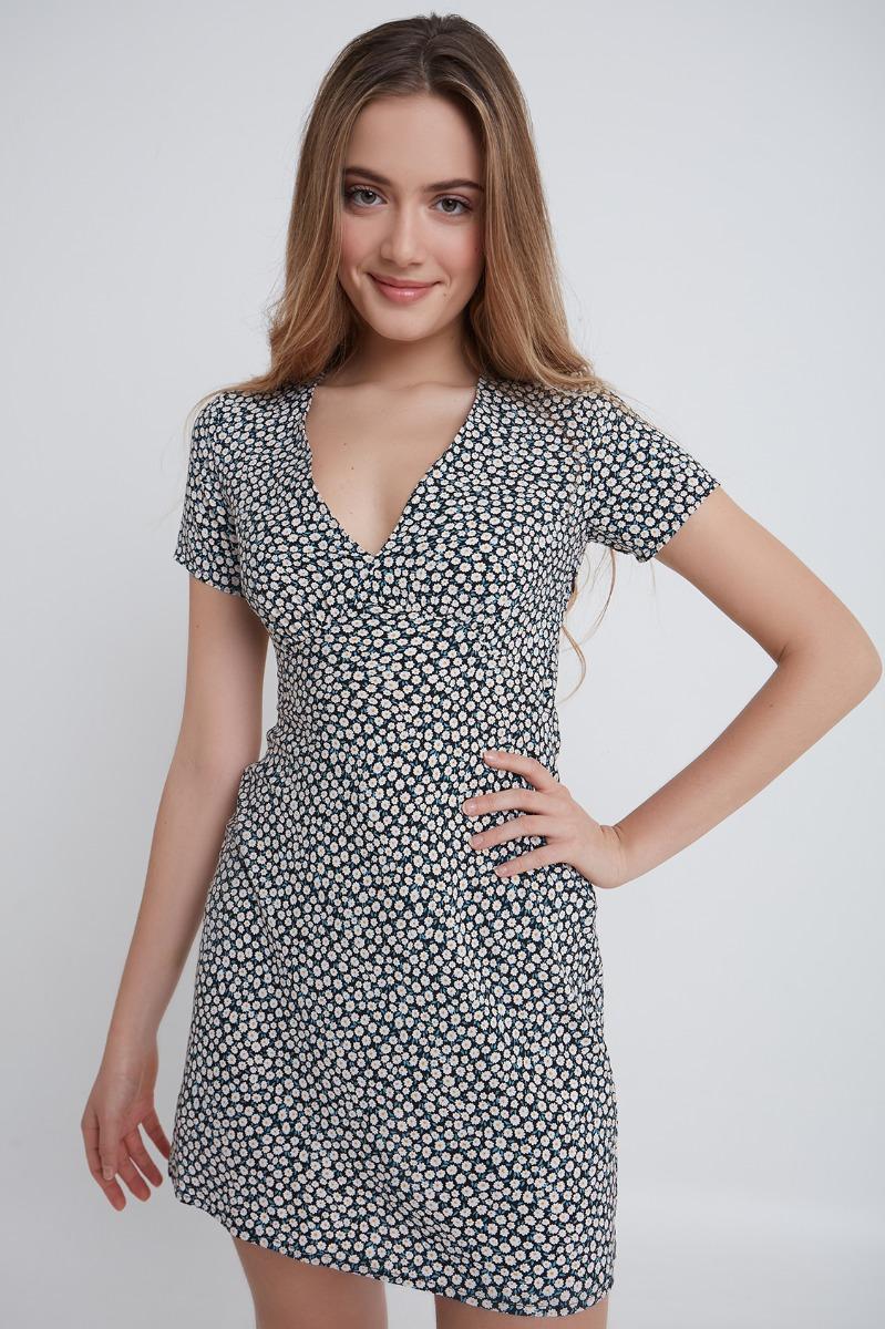 Vestito zip laterale