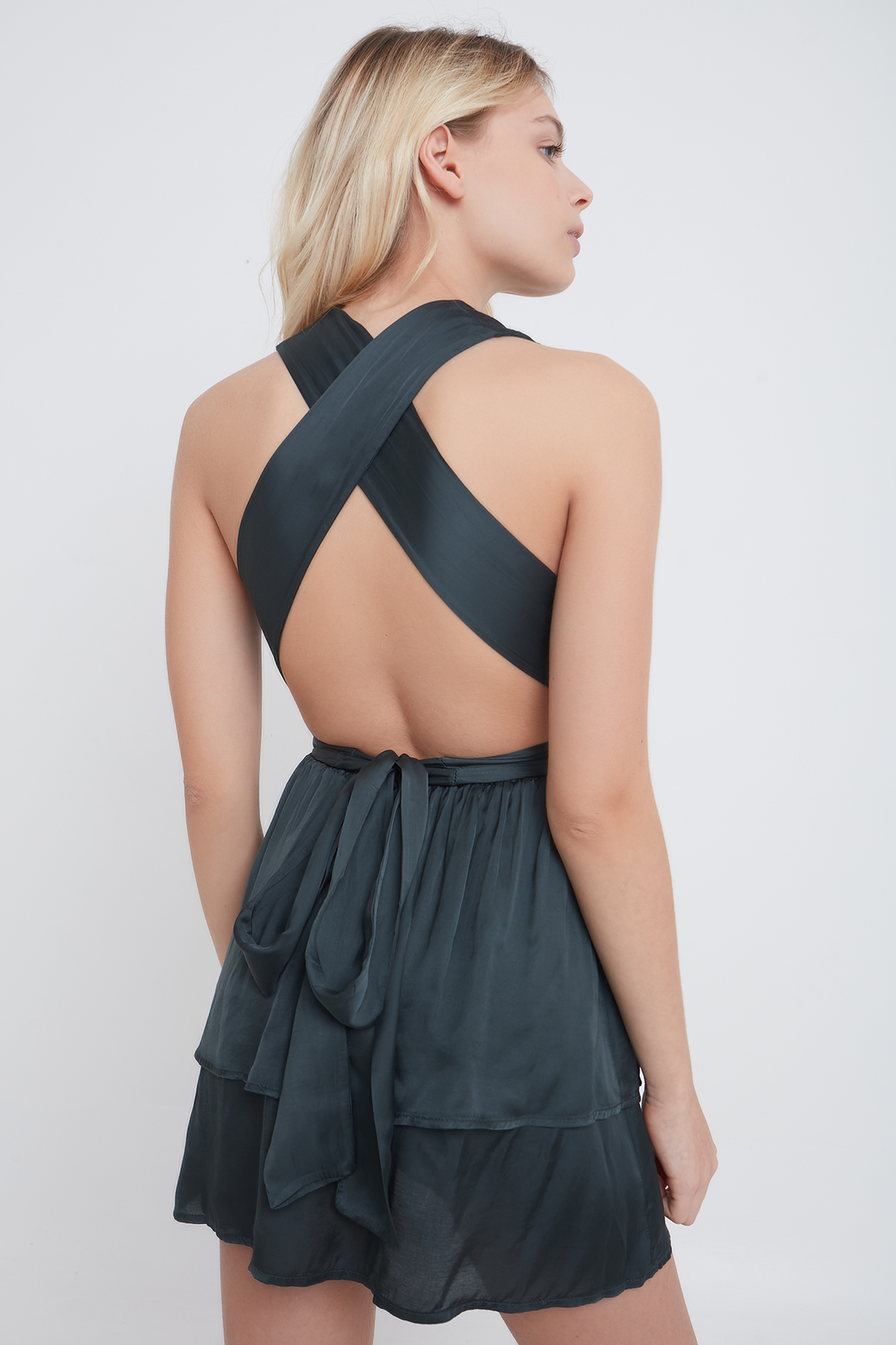 Back criss cross dress