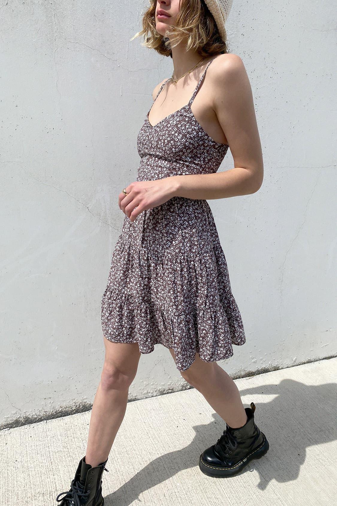 Vestido escote en V