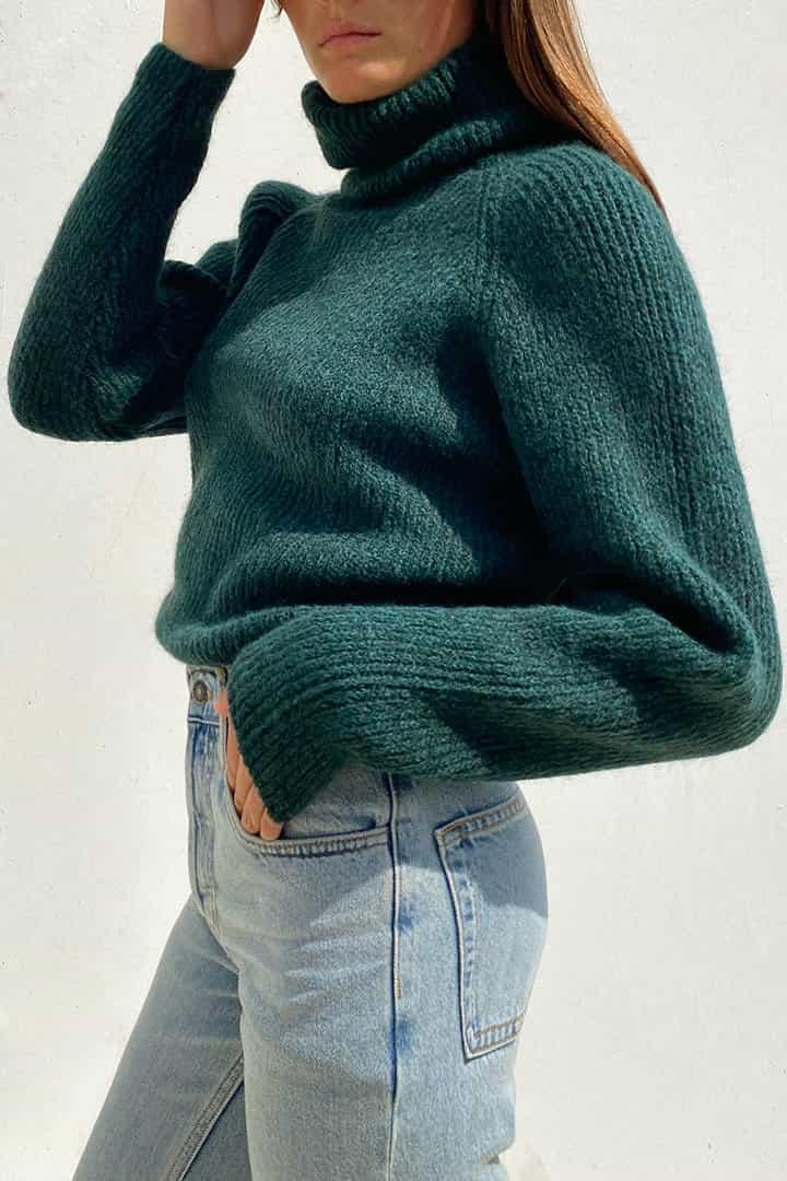 Remixed sweater