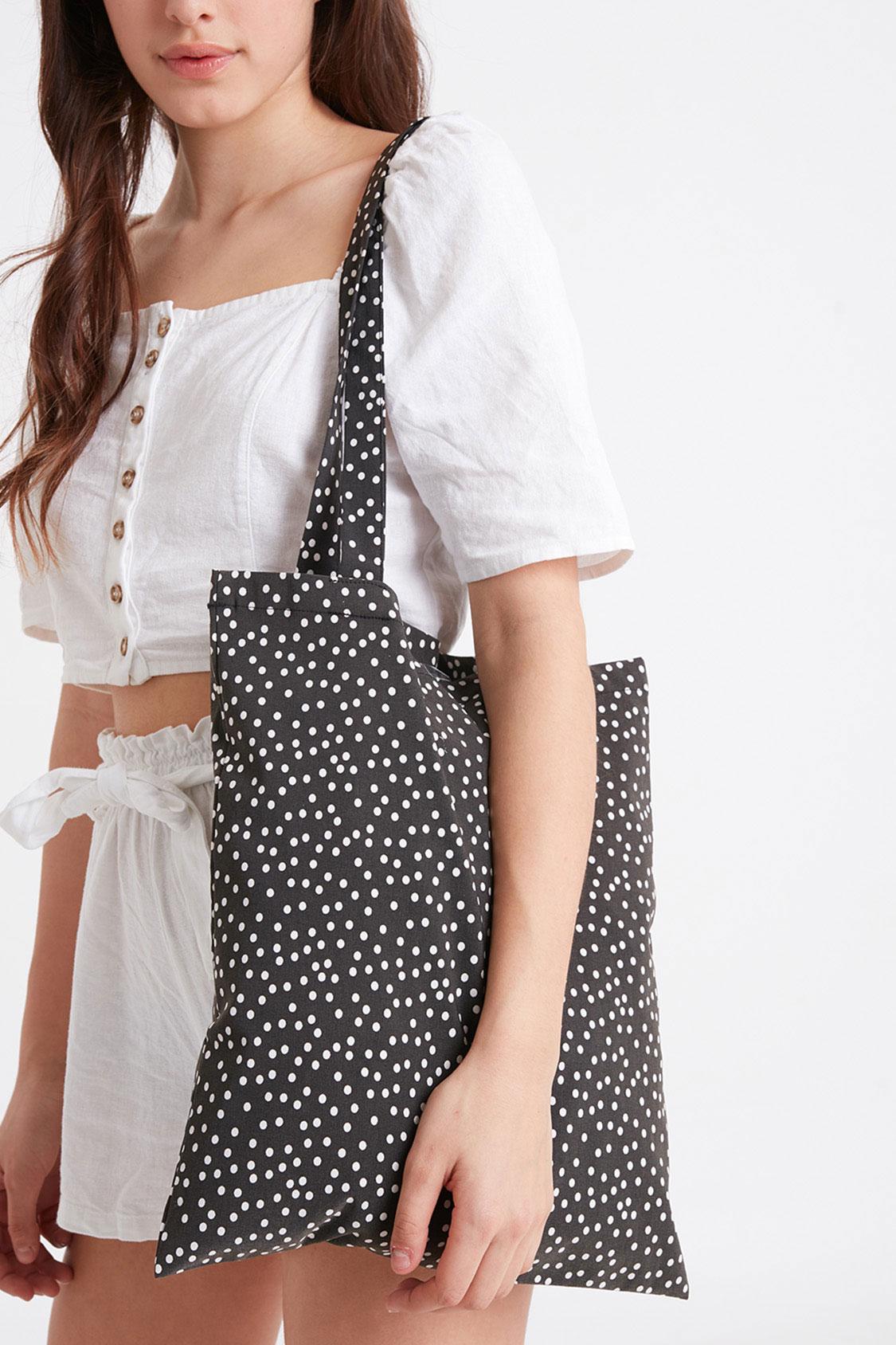 Shopping bag a pois