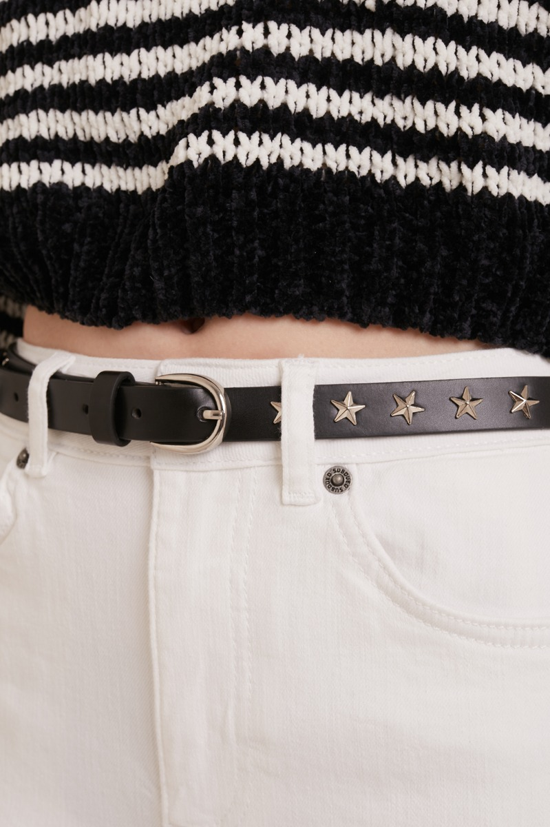 Star studs belt
