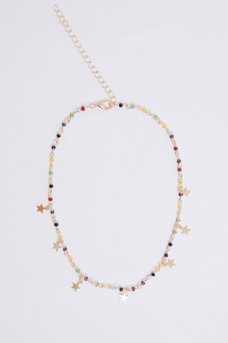 Pearls & stars necklace