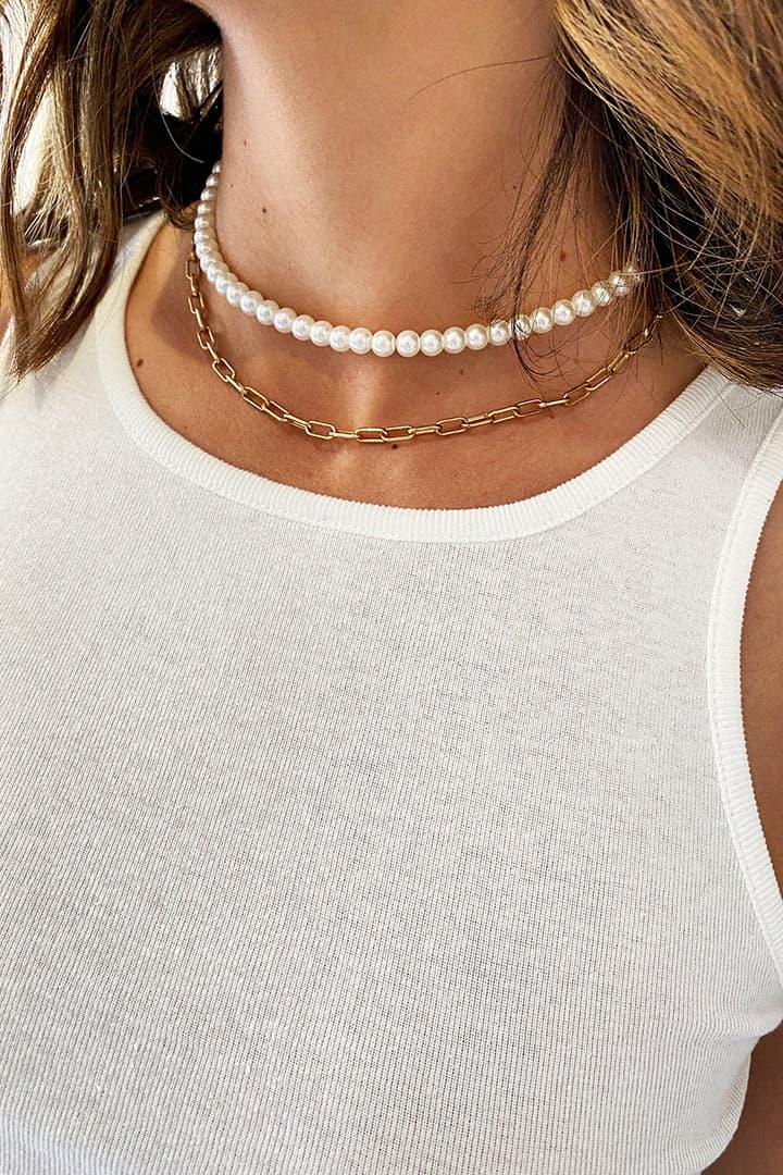 Perlen Halskette