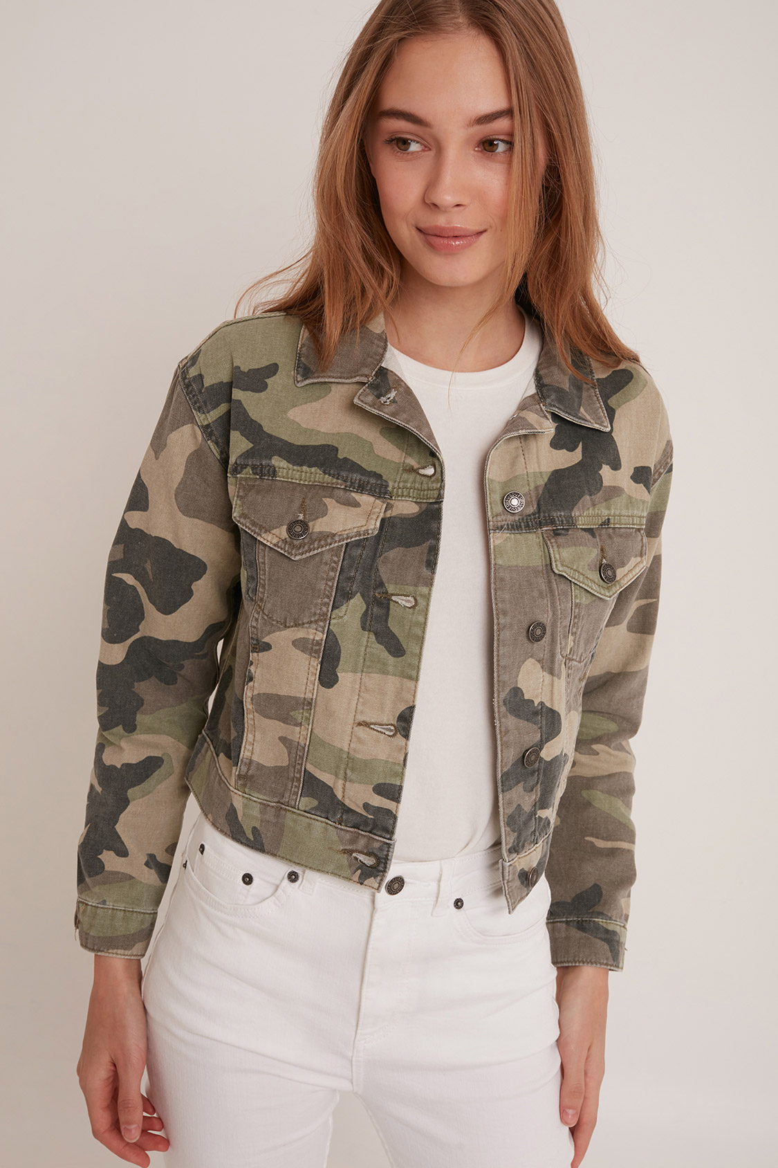 411e56667b6e8 Camo jacket. Skip to the beginning of the images gallery