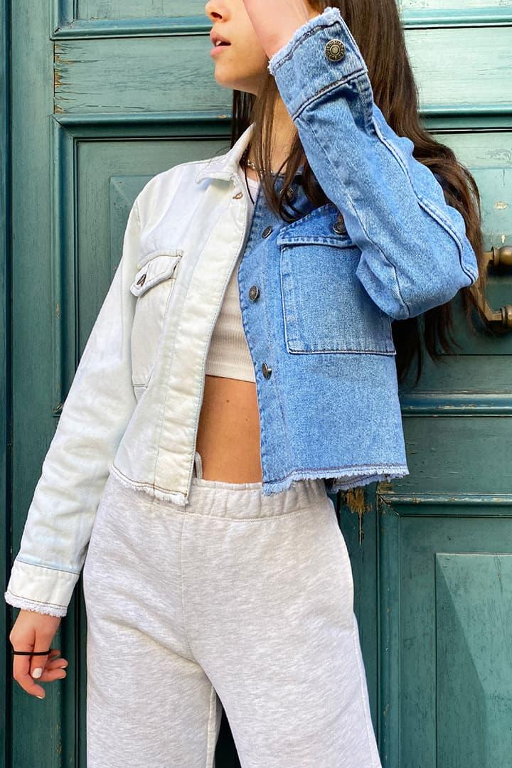 Bicolor jacket