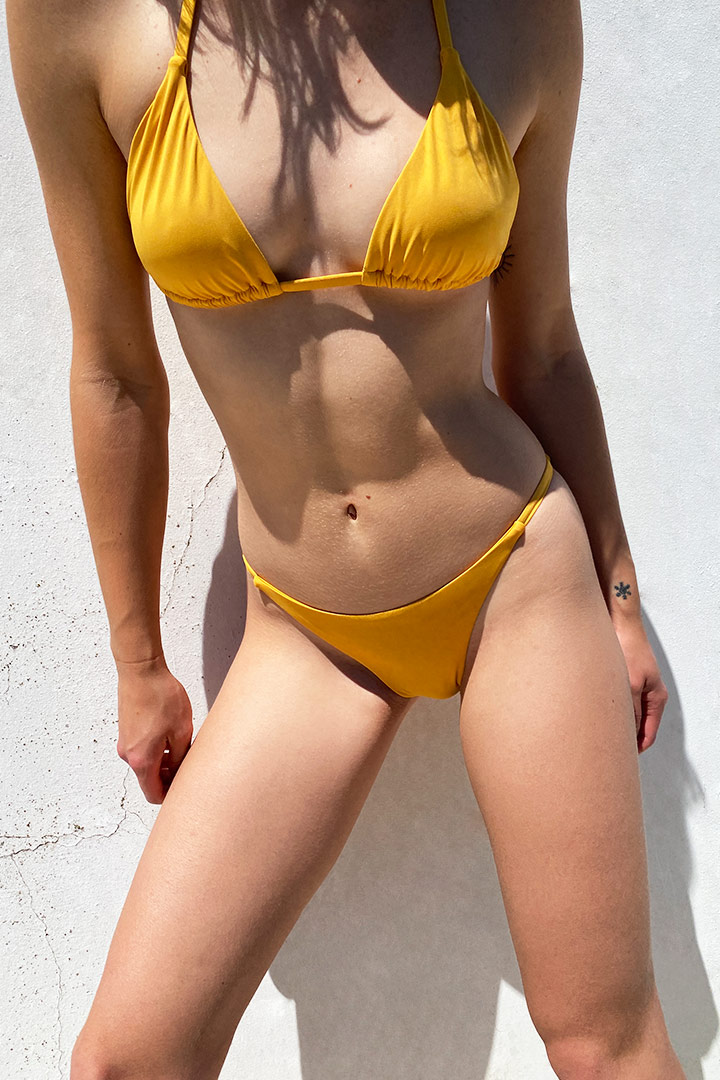 V-bar bikini bottom