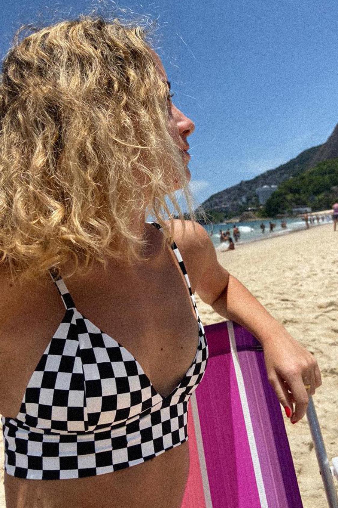 Top bikini triangolo