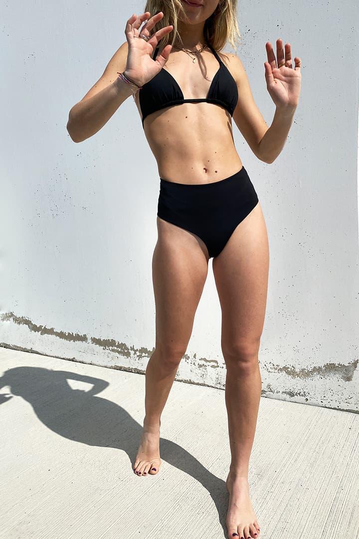 Slip bikini vita alta