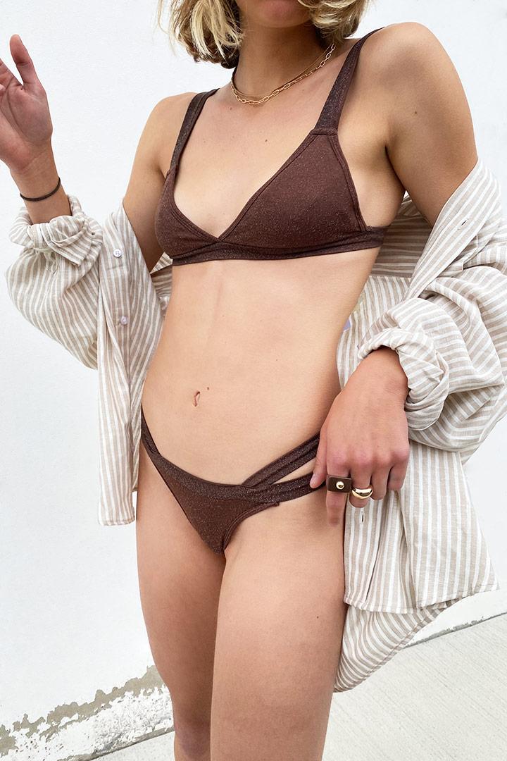 Set bikini triángulo
