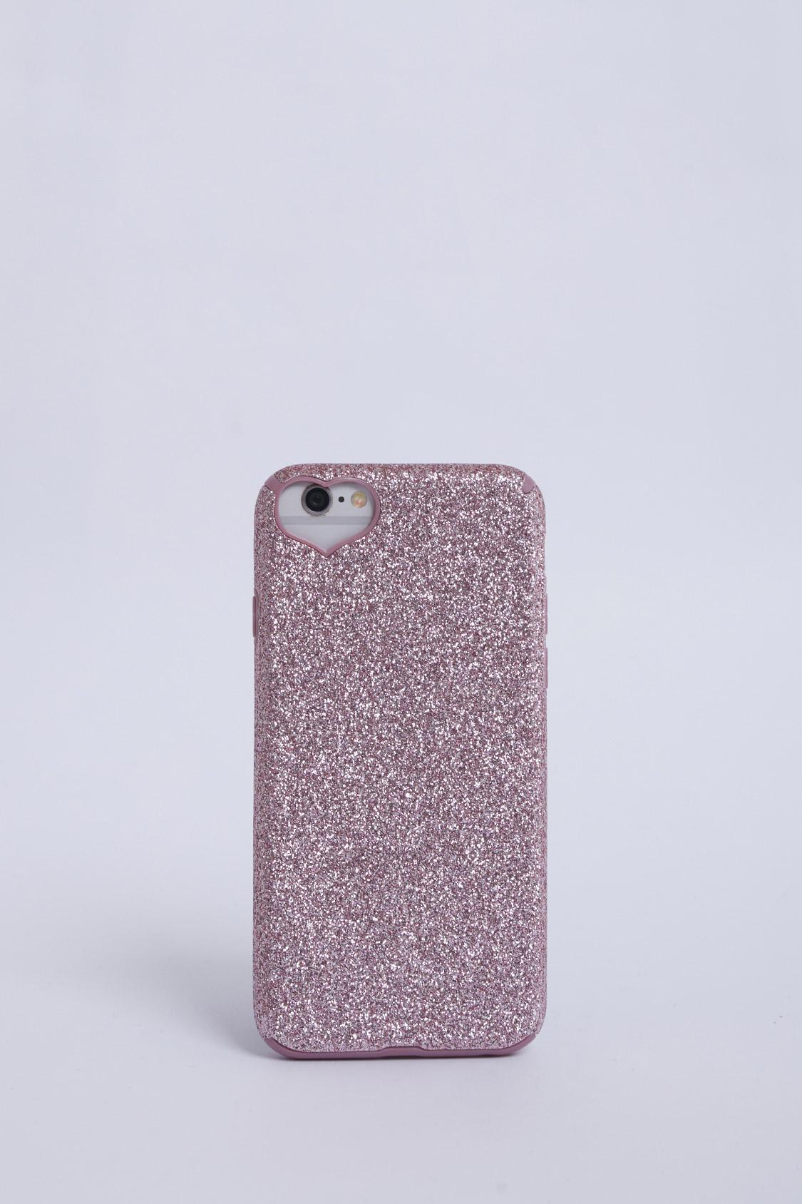 cover iphone 6 rosa glitter