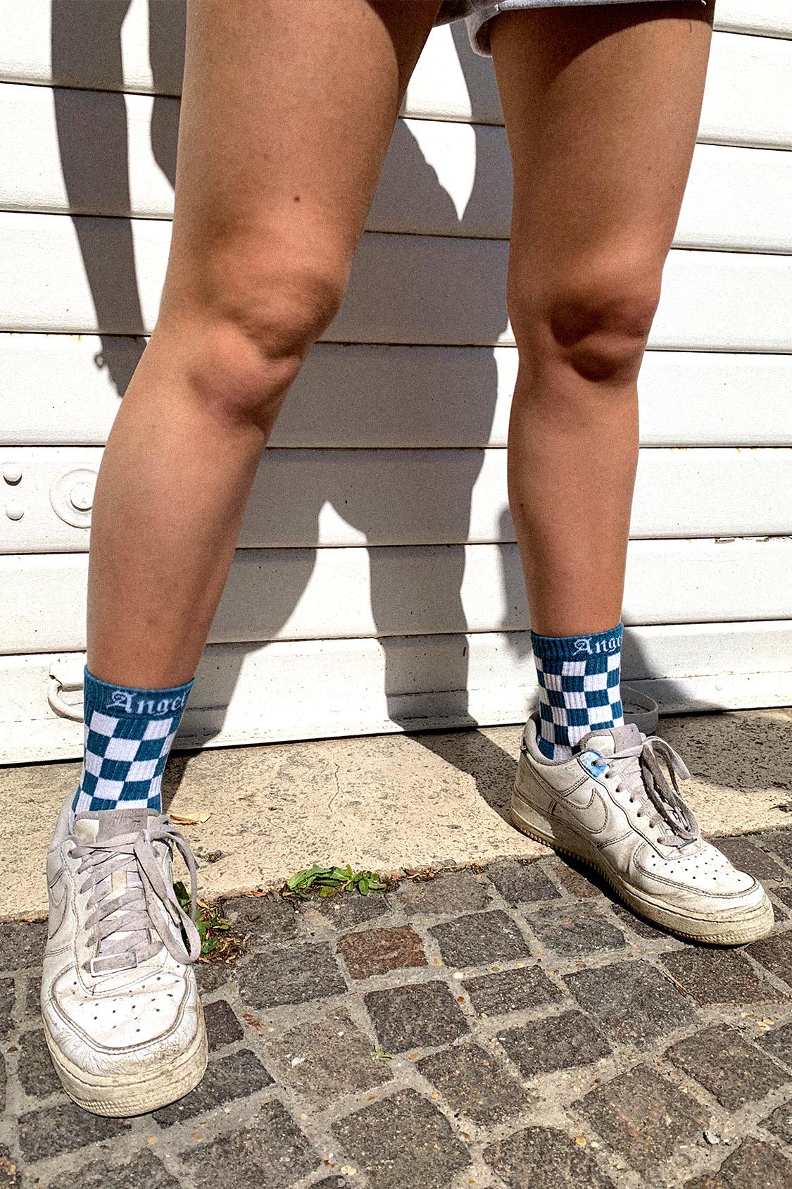 Angel printed socks