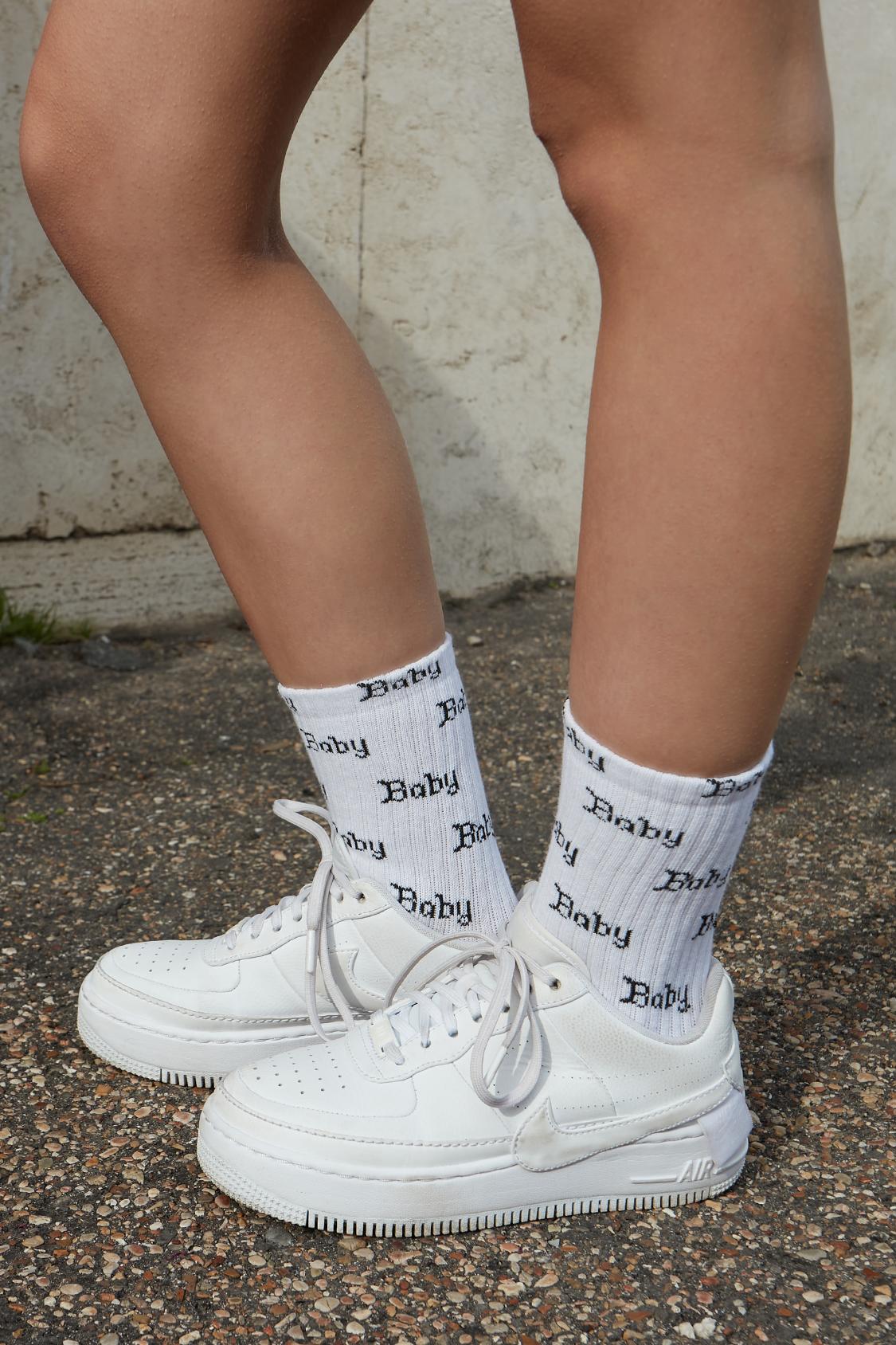 Baby printed socks