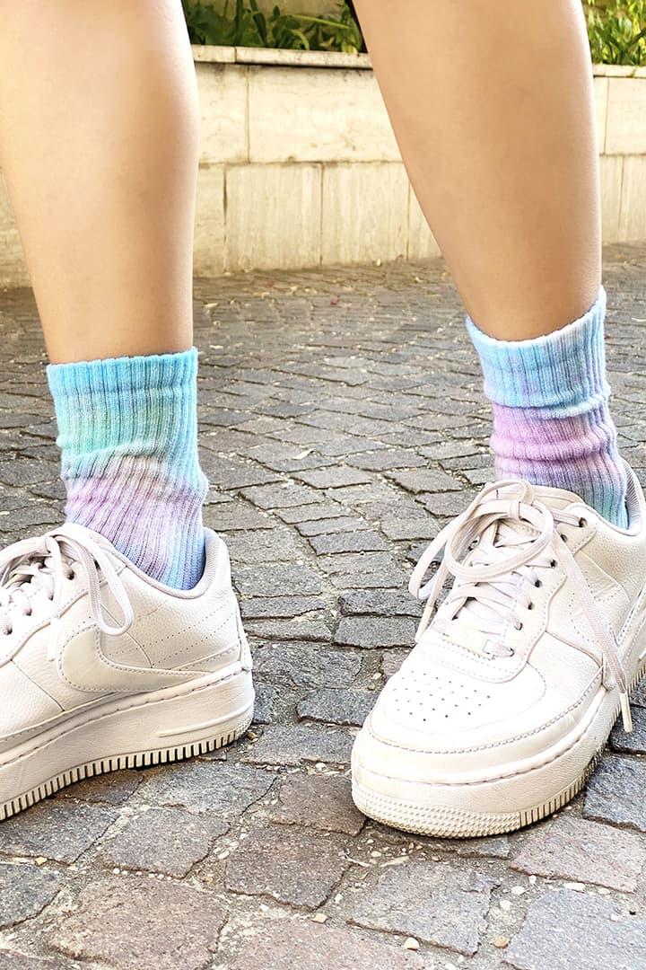 Calzini tie-dye
