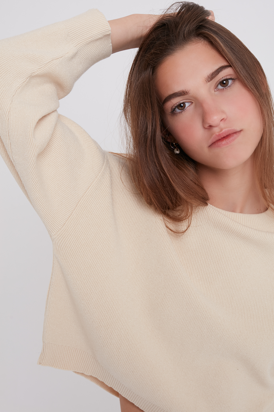 Ribbed sweater
