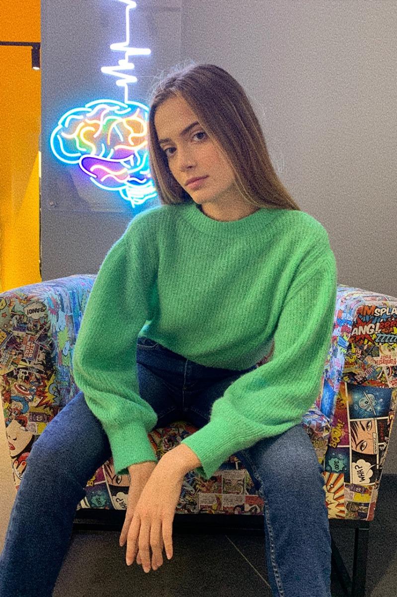 Maglione lupetto