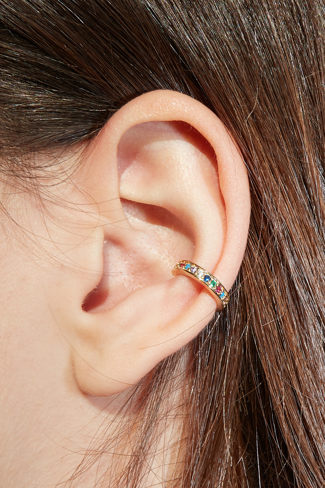 Hoop ear cuff