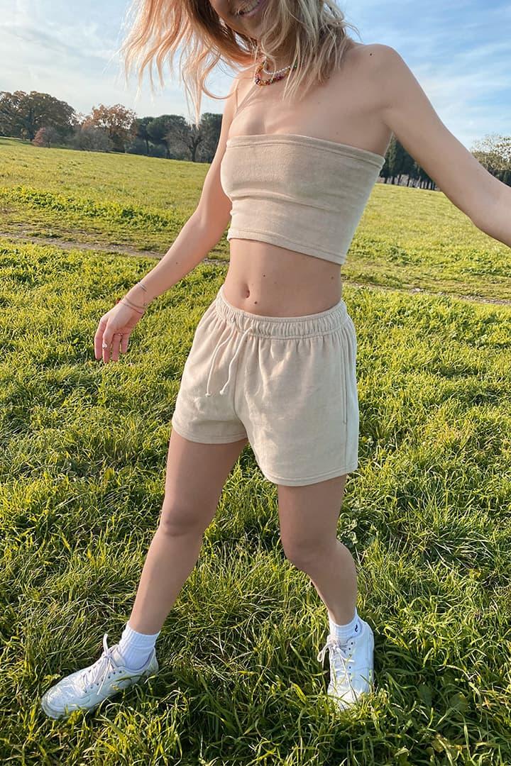 Chenille shorts