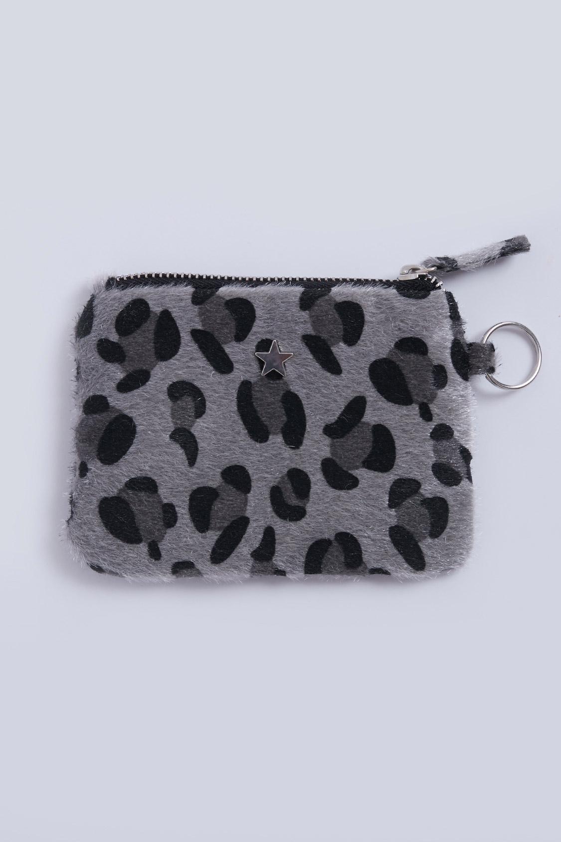 Portamonete leopardato