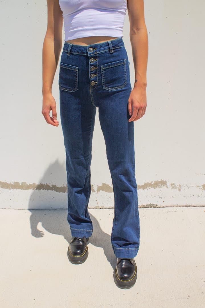 super popular fb784 e5c6d Palazzo jeans