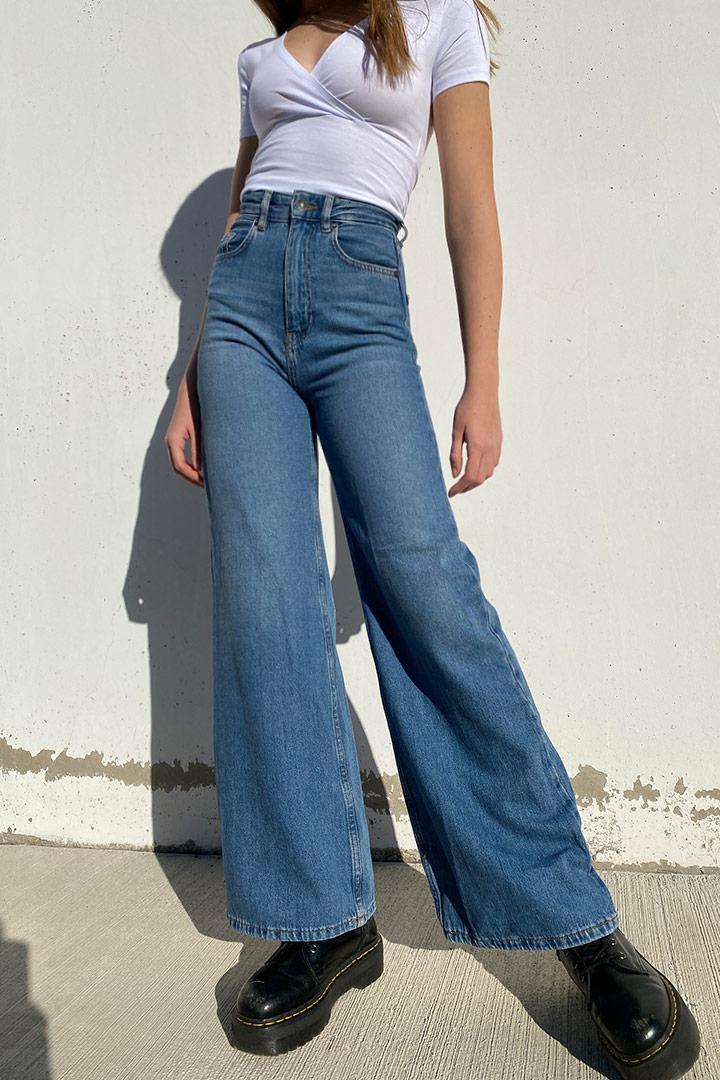 Jeans palazzo