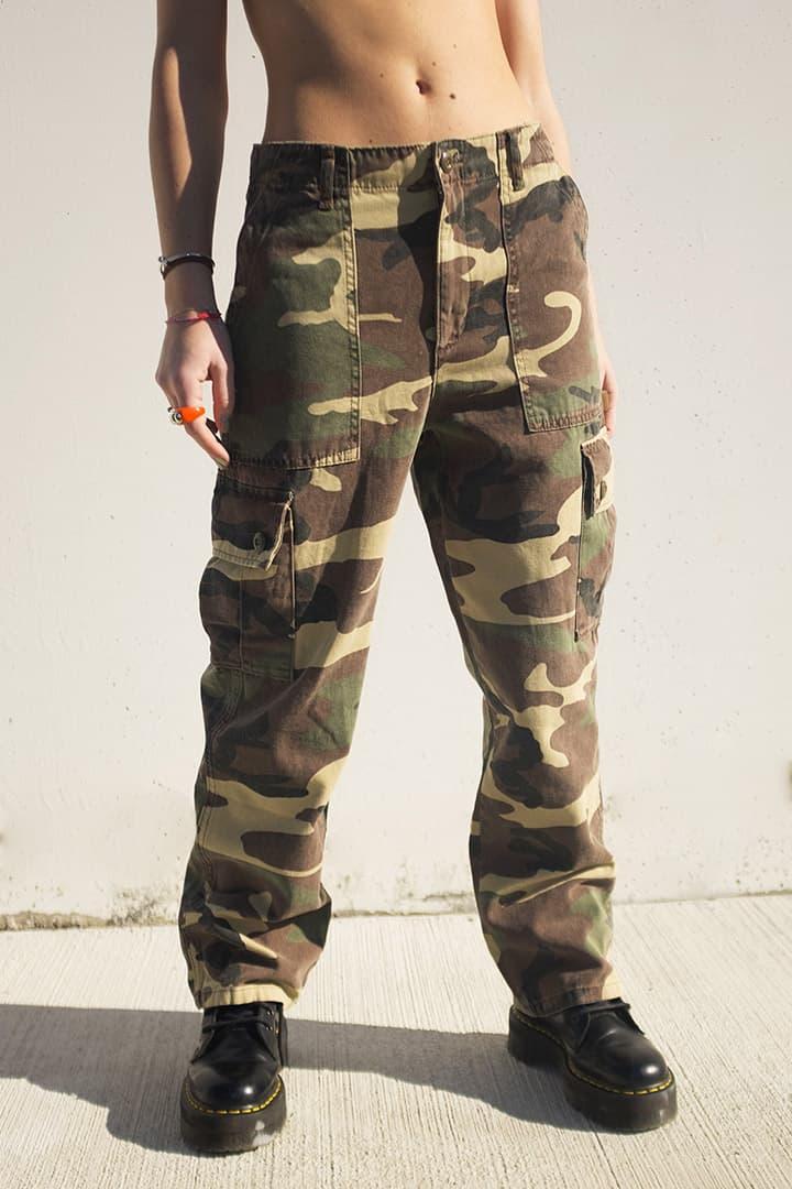 Pantalones combat camuflaje