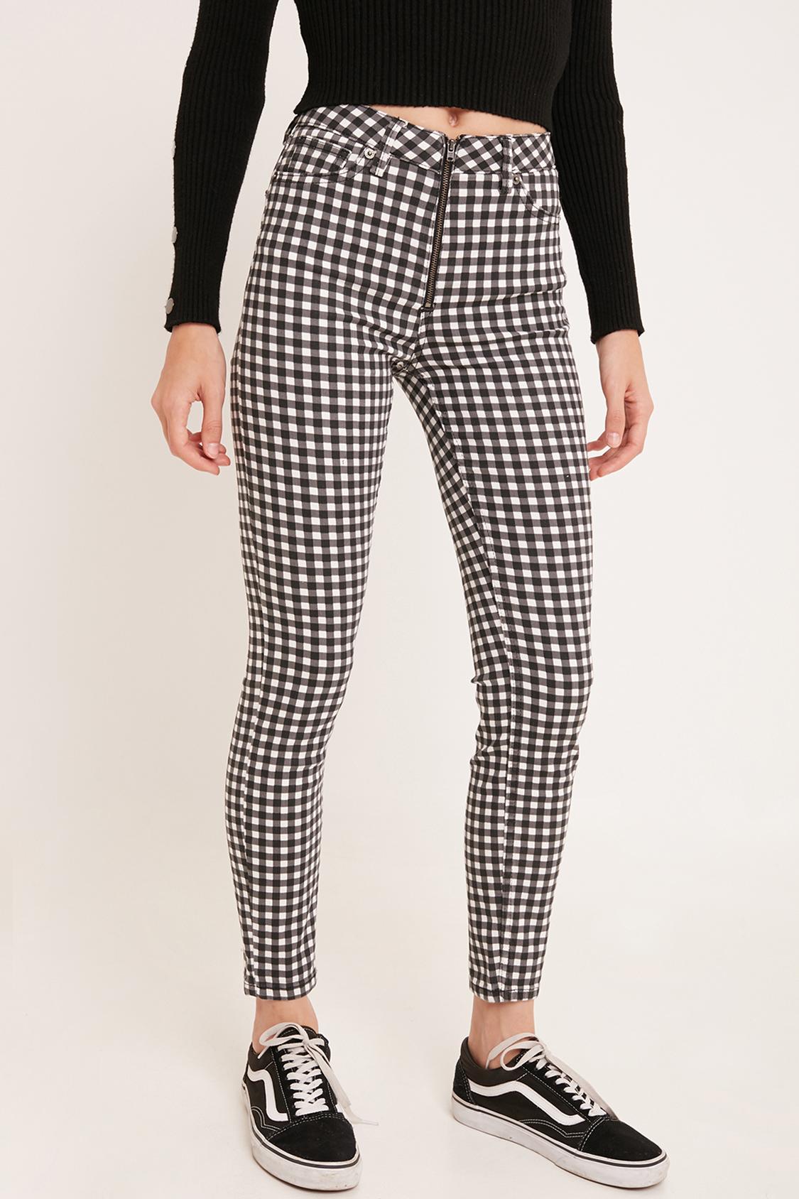 Pantaloni a quadri vichy