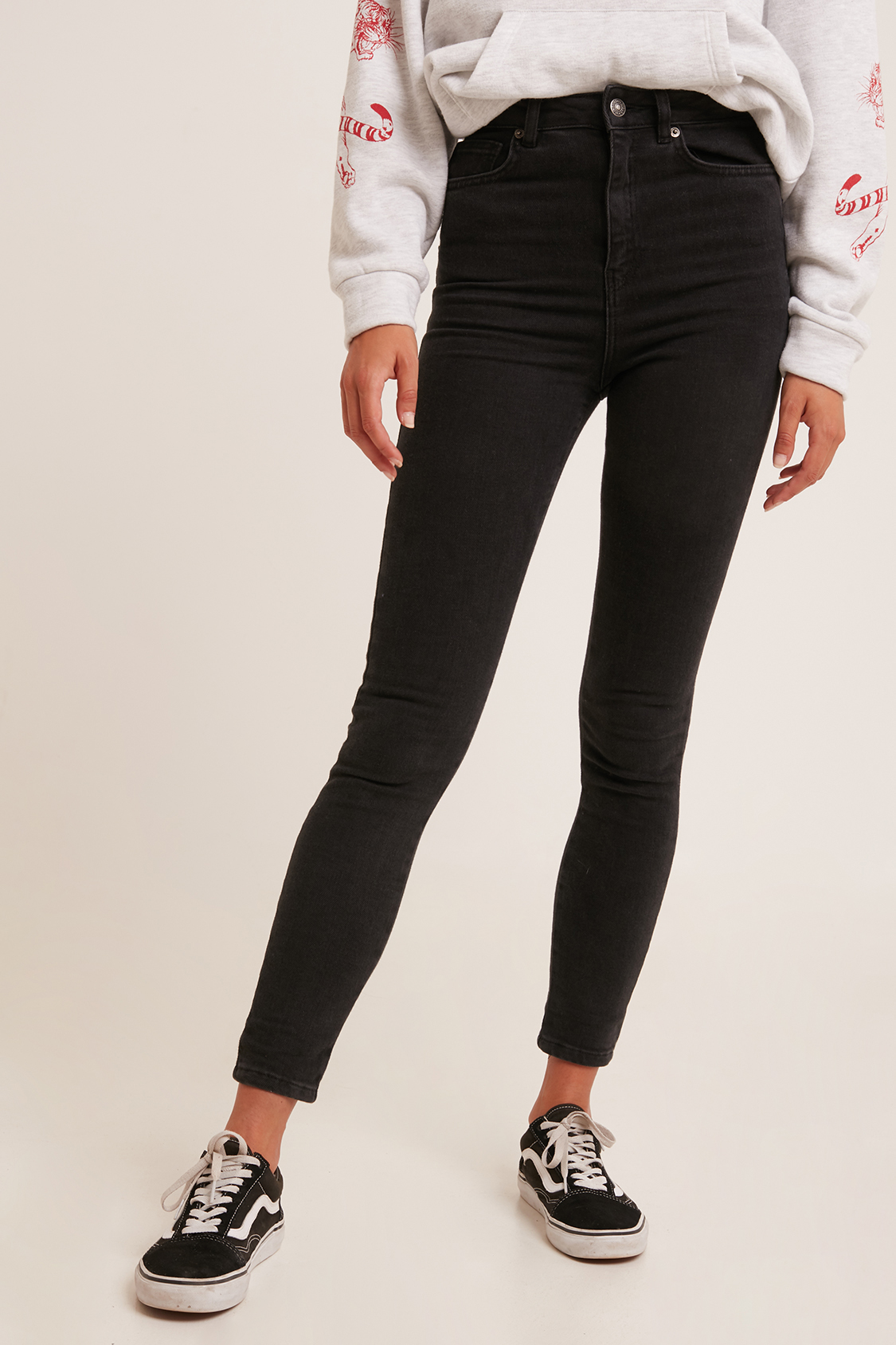0b4842071dbf Super high waisted skinny jeans